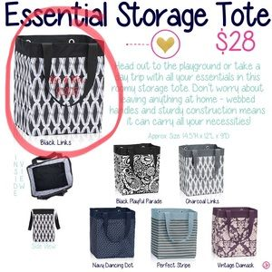 Thirty One Essential Bag. BRAND NEW with Red J